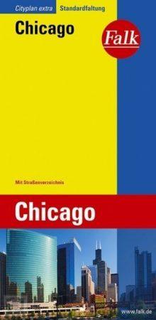 Chicago, city map - Falk