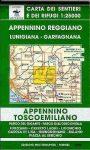 Appennino Reggiano: Lunigiana - Garfagnana térkép (No 15) - Multigraphic