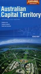Canberra and the Australian Capital Territory térkép - Explore Australia