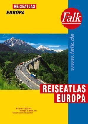Európa Falk autóatlasz