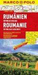 Románia és Moldova térkép - Marco Polo