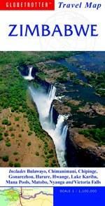 Zimbabwe - Globetrotter: Travel Map