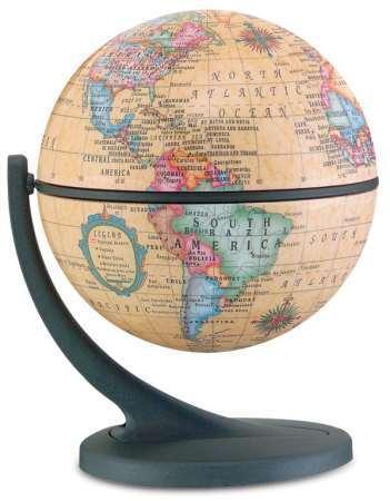 Csodagömb (11 cm) - antik földgömb (41809MP)