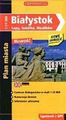 Białystok térkép - PPWK