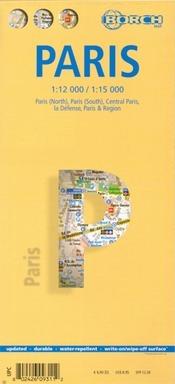 Párizs térkép - Borch