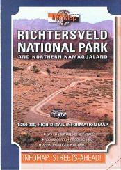 Richtersveld National Park and Northern Namaqualand térkép - Infomap