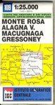 Monte Rosa - Alagna - Macugnaga - Gressoney térkép (No 109) - IGC