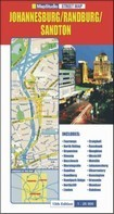 Johannesburg/Randburg/Sandton térkép - MapStudio