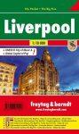 Liverpool zsebtérkép - Freytag-Berndt