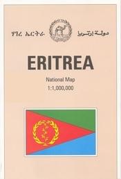 Eritrea térkép - University of Berne