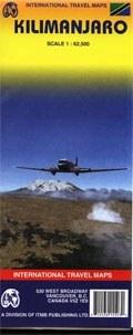 Kilimandzsáró térkép - ITM