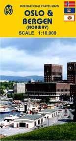 Oslo és Bergen térkép - ITM