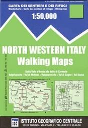 Genoa, Varazze, Ovada térkép - IGC