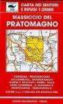 Massiccio del Pratomagno térkép (No 31/32) - Multigraphic