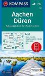 Aachen & Düren, hiking map (WK 757) - Kompass