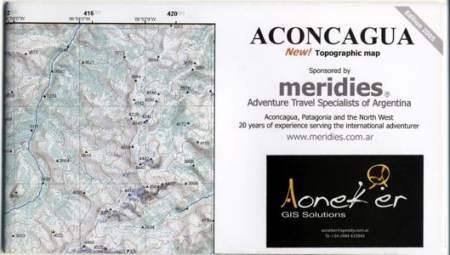 Aconcagua térkép (8) - Aoneker