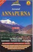 Annapurna körtúra térkép (1) - Himalayan Maphouse
