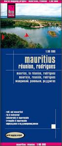 Mauritius, Réunion és Rodrigues térkép - Reise Know-How