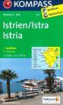 Isztria turistatérkép (WK 238) - Kompass