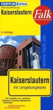 Kaiserslautern Extra várostérkép - Falk