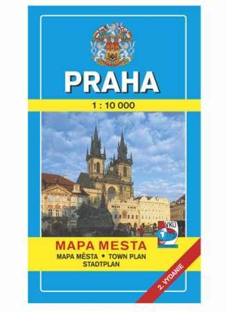 Prága térkép - VKÚ