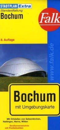 Bochum Extra várostérkép - Falk