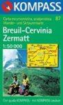 WK 87 Breuil - Cervinia - Zermatt - KOMPASS