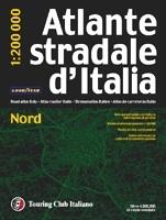 Italia - Nord autóatlasz - TCI