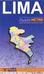 Lima és környéke térkép - Editorial Lima 2000