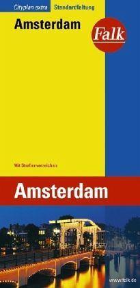 Amszterdam várostérkép - Falk Cityplan Extra