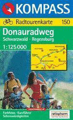Donau-Radweg: Schwarzwald-Regensburg - Kompass RWK 150