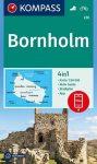 Bornholm, hiking map (WK 236) - Kompass