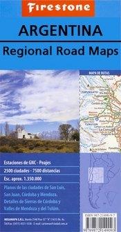 North-Western Argentina térkép (No1.) - Firestone