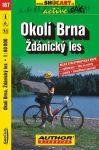 Brno környéke, Ždánický les kerékpártérkép (167) - ShoCart