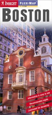 Boston laminált térkép - Insight