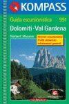 Dolomiti - Val Gardena - Kompass WF 991