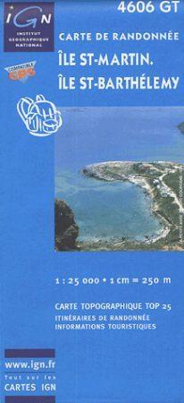 Ile St-Martin / Ile St-Barthélemy - IGN 4606GT