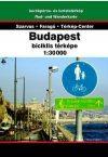 Budapest, cycling map - Szarvas & Faragó & Térkép-Center