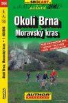 Brno környéke, Morva-karszt kerékpártérkép (144) - ShoCart