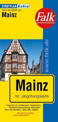 Mainz Extra várostérkép - Falk