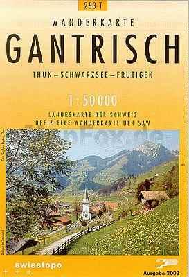 Gantrisch - Landestopographie T 253