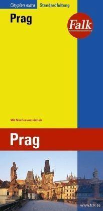 Prága várostérkép - Falk