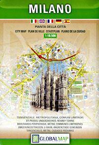 Milano térkép - LAC
