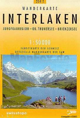 Interlaken - Landestopographie T 254