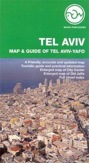 Tel Aviv térkép - Mapa Publishers