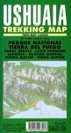 Ushuaia trekking térkép - Zagier y Urruty