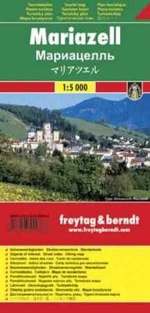 Mariazell várostérkép - Freytag-Berndt