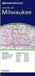Milwaukee, WI térkép - Rand McNally
