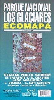 Los Glaciares National Park térkép - Zagier y Urruty