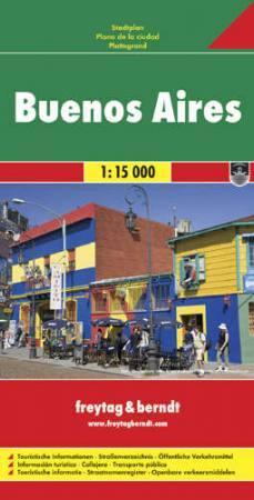 Buenos Aires várostérkép - Freytag-Berndt